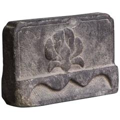 Chinese Stone Piece from the Shanxi Province