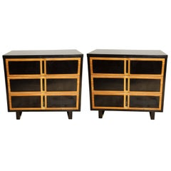 Pair of Mid-Century Commodes