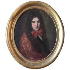 18th Century Portrait of 'Monsieur'