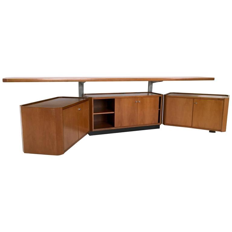 Sideboard/Tv Stand by Osvaldo Borsani for Tecno, 1960s-1970s
