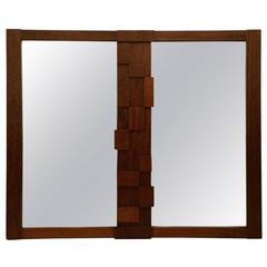 Brutalist Mosaic Mirror by Lane Altavista