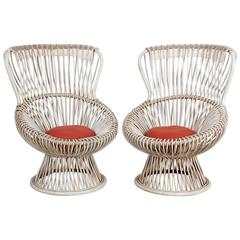 Pair of Margherita Chairs by Franco Albini