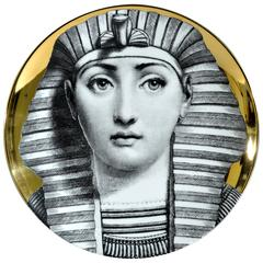 Atelier Fornasetti Gold Tema E Variazioni Plate, Number 221