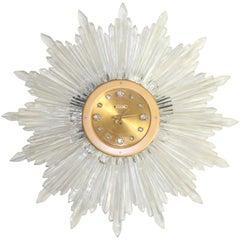 Original 1948 Baccarat Sun Clock