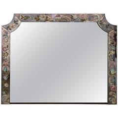 Vintage Chinoiserie Mirror