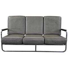 1930 Kem Webber Tube Sofa for Lloyd Manufacturing