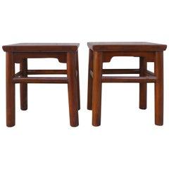 Pair of Jumu End Tables