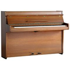 Danish Mid-Century Upright Piano in Teak by Brødrene Jørgensen