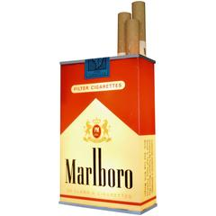 Massive Vintage Marlboro Light Up Cigarette Pack