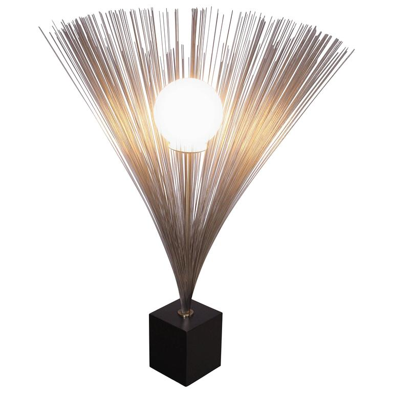 Harry Bertoia Style Spray Lamp For Sale