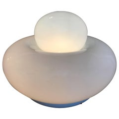 "Large Gramigna for Artemide ""Electra"" 1968 Italian Glass Lamp"