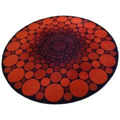 Carpet by Verner Panton 1960s