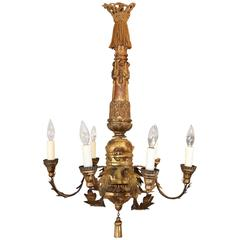 19th Century Italian Neoclassical Chandelier