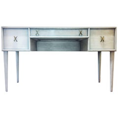 Classy Paul Frankl Writing Desk for Johnson Furniture