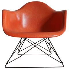 1950s Eames LAR Cats Cradle Fiberglass Chair