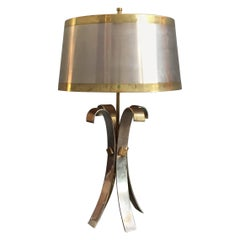 Marvelous Table Lamp Attributed to Maison Charles