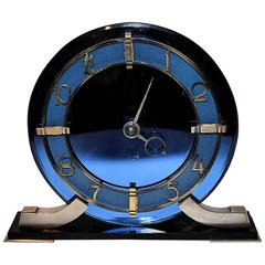 English 1930s Art Deco Smiths Clock