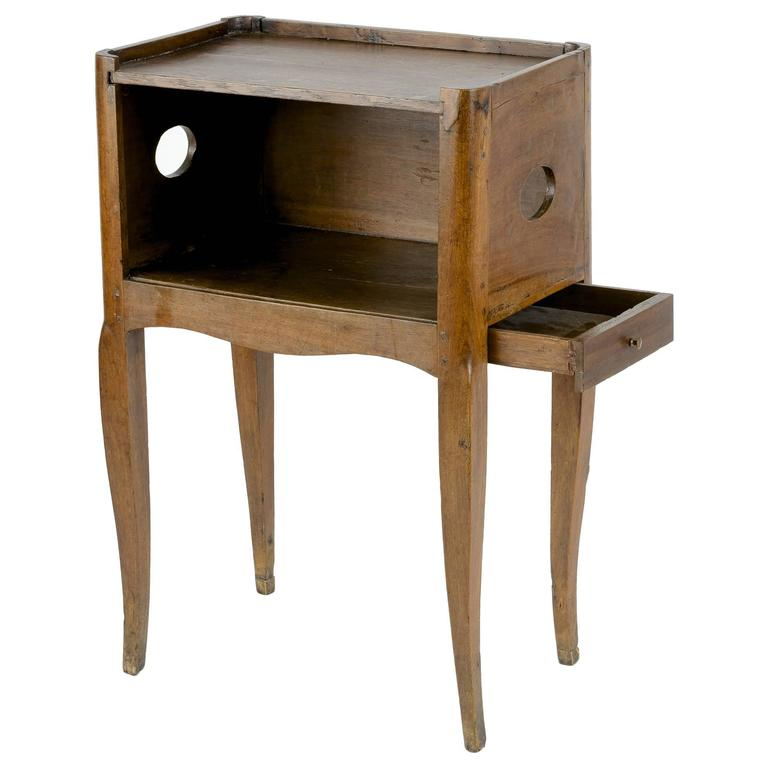 Louis xv walnut bedside table for sale at 1stdibs - Table de chevet louis xv ...