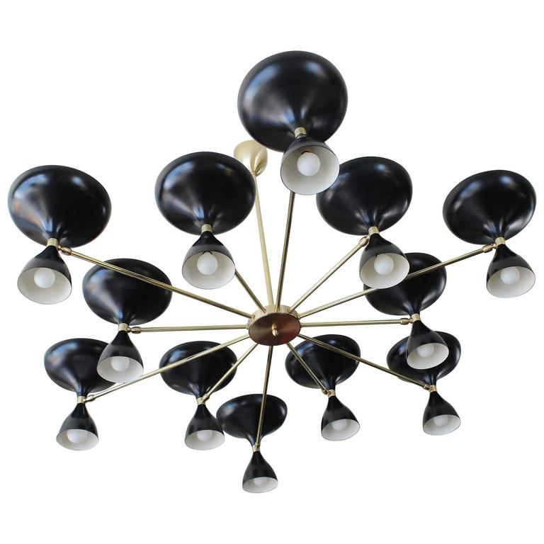 Stellar Union Milano Chandelier For Sale