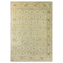 Antique Khotan Carpet, Free Shipping