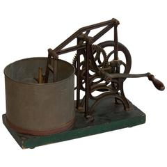 19th Century L.S. Starrett's Mechanical Food Chopper