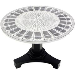 Rare Piero Fornasetti Architettura Table, New Old Stock