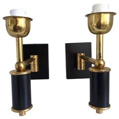 Arredoluce Swing Arm Sconces