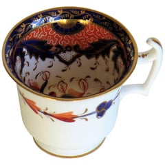 Late Georgian John Rose Coalport Coffee Cup Japan Imari Pattern, circa 1815