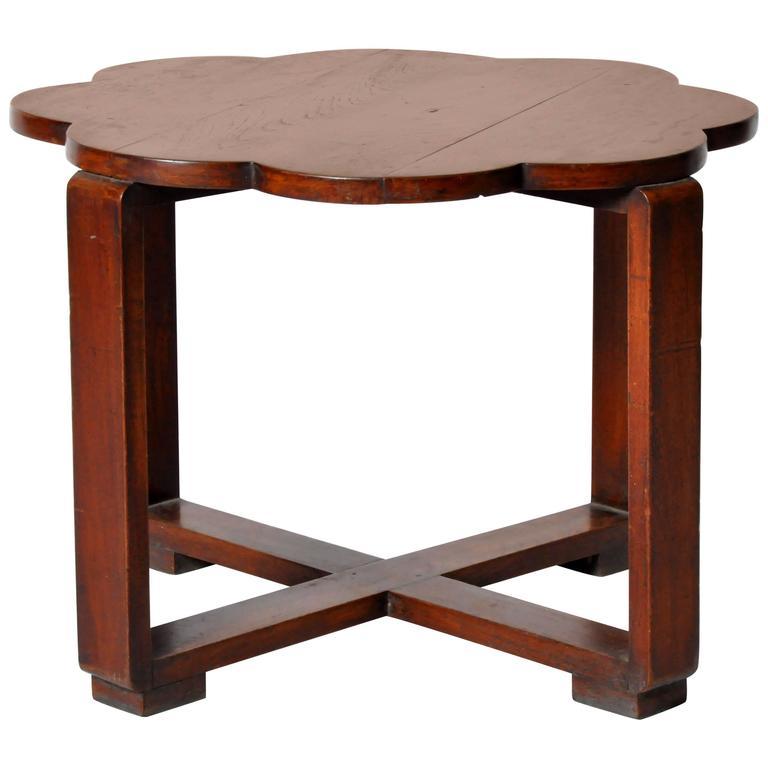 British Colonial Art Deco Table