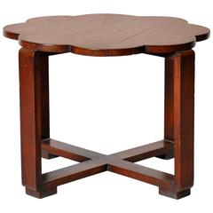 British Colonial Art Deco Table