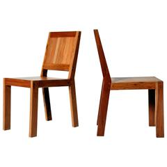 Reclaimed Teak Wood Chairs