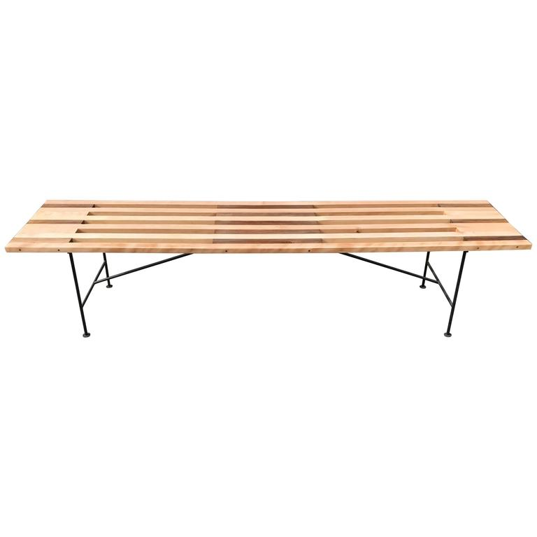 Custom Slat Bench or Coffee Table 1