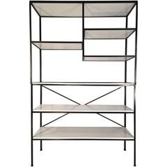 Frederick Weinberg Iron Shelf Unit