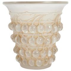 Rene Lalique Vase Montmorency