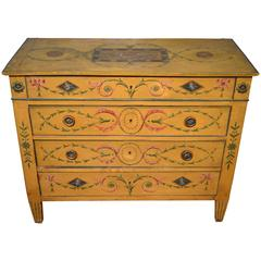 Painted Continental Commode, circa 1820