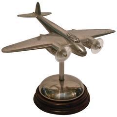 Art Deco Bomber - Fighter Desk Airplane Model