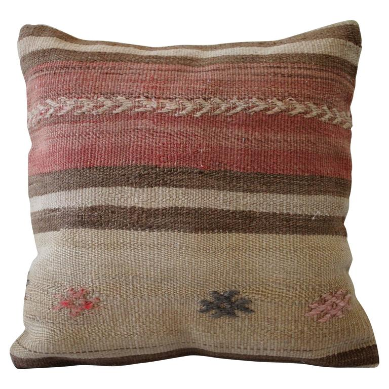 Vintage Turkish Rug Pillow At 1stdibs
