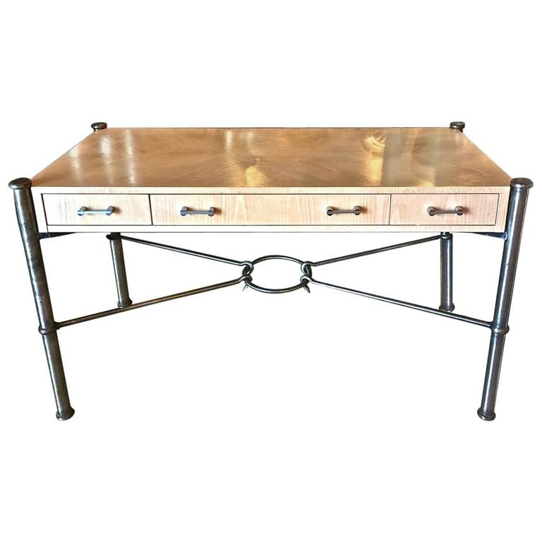 Three Drawer Writing Desk By Jay Spectre For Century Furniture 1970 1980