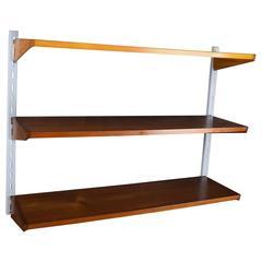 Teak Wall Shelves by Kai Kristiansen for Feldballes Møbelfabrik