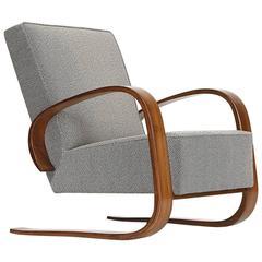 Czech Cantilever Lounge Chair by Miroslav Navratil, 1950s