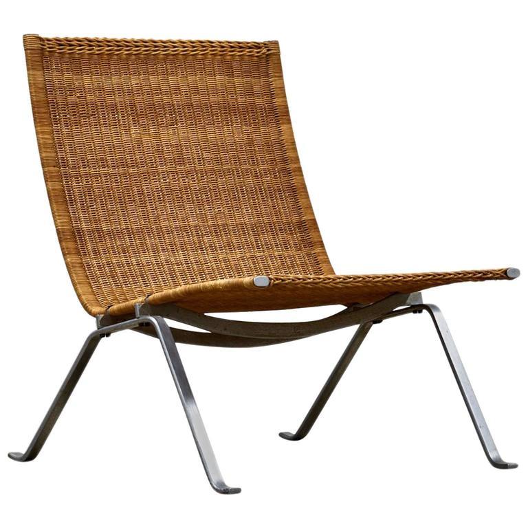 Poul Kjaerholm For E Kold Christensen Chair Model Pk 22