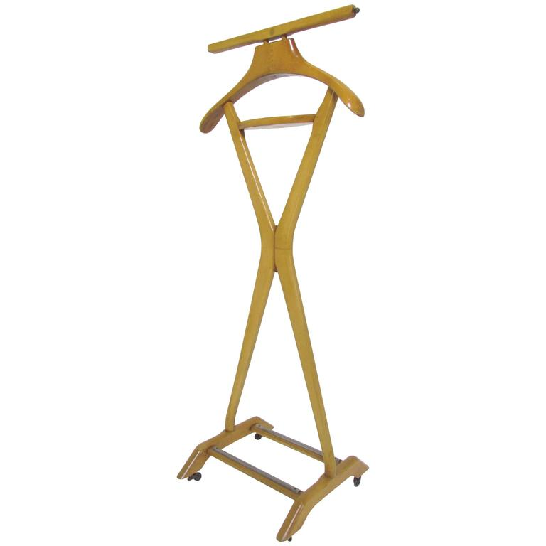 Modernist Gentleman's Valet Stand by Ico Parisi for Fratelli Reguitti, Italy