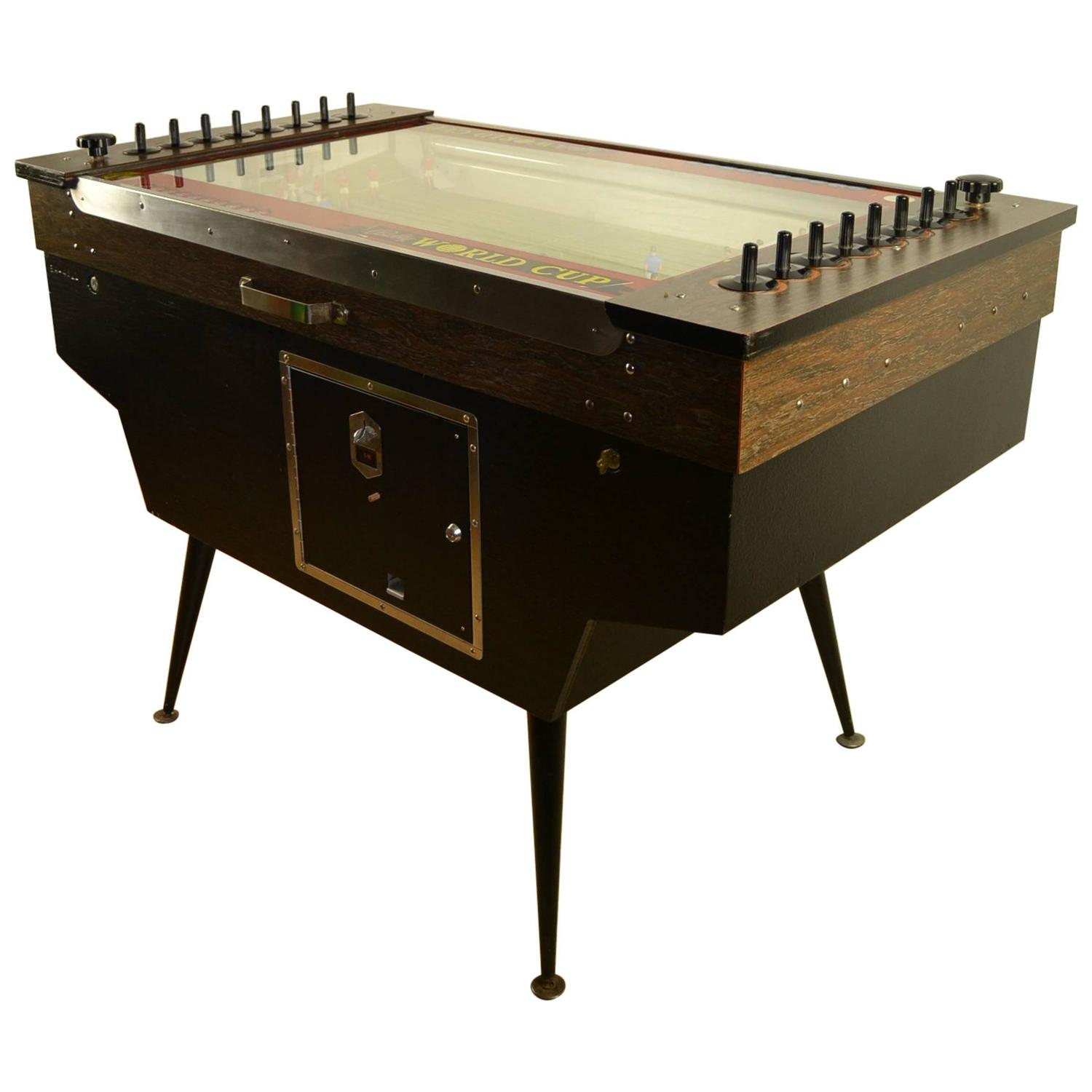 Bally 1968 World Cup Soccer Game Table For Sale at 1stdibs
