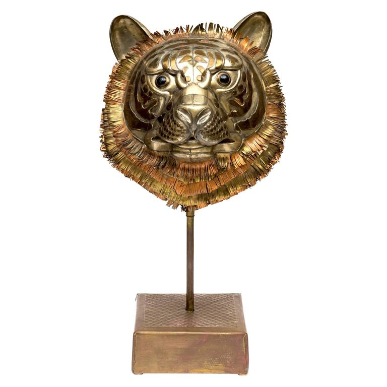 Bustamante Tiger Sculpture