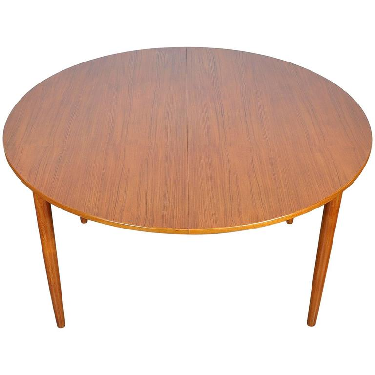 Falster Teak Expandable Dining Table For Sale