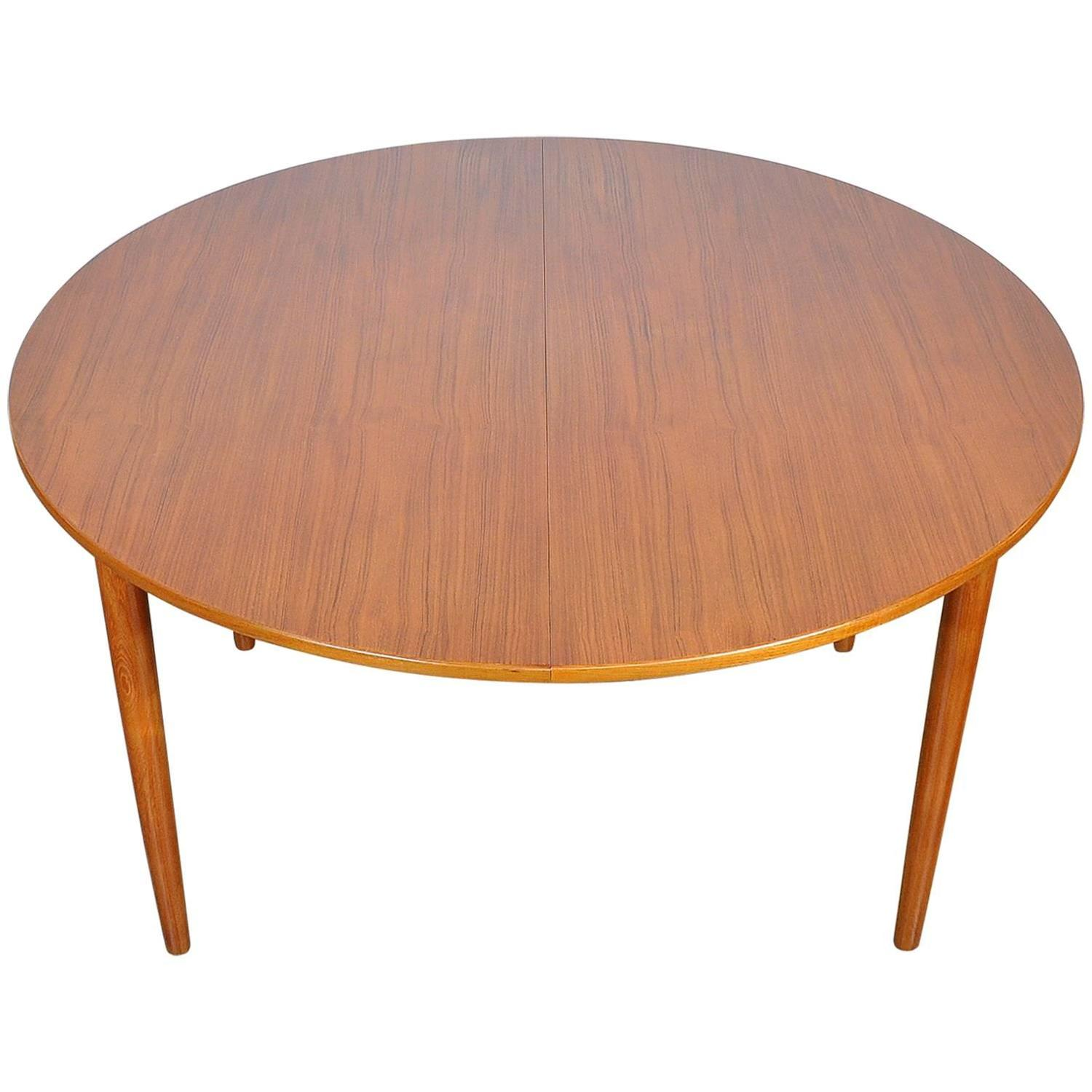 Falster Teak Expandable Dining Table at 1stdibs