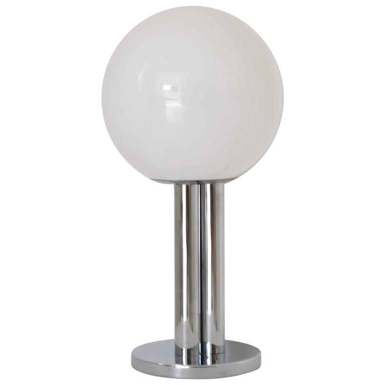 Midcentury Chrome Table Lamp For Sale At 1stdibs