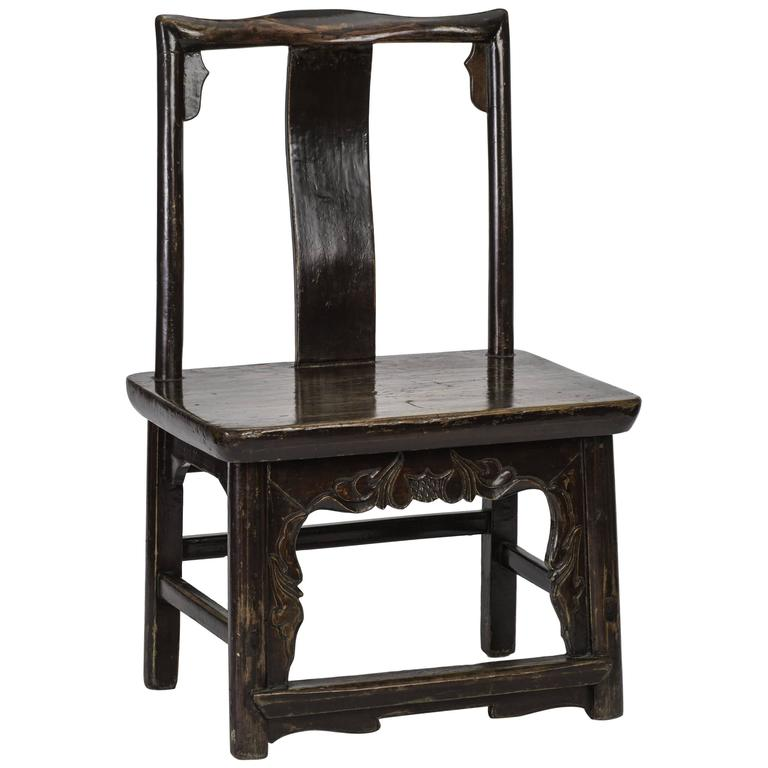 Rosewood Chinese Child Bride's Chair