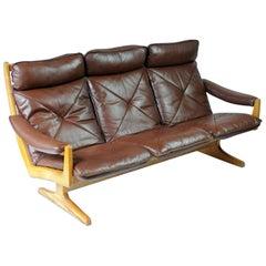 Norwegian Three-Seat Sofa from Soda Galvano, 1960