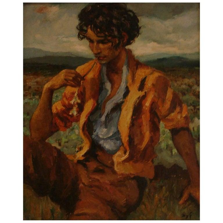 Marcel Dyf (Dreyfuss) Le Gitan, the Gypsy, 1899-1985 For Sale